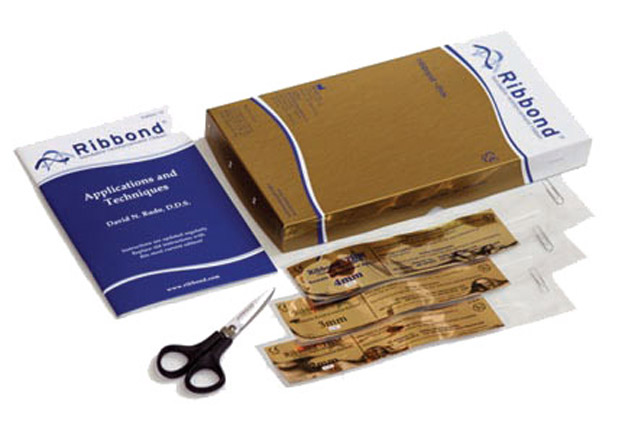 The Ribbond Starter Kit contains everything you need except for the composite and acrylics that you already use in your practice.